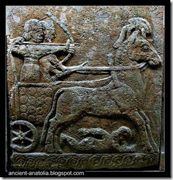 hittite-archer-on-a-chariot