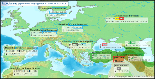 The African DNA of Europe E-V13 | Old Europe