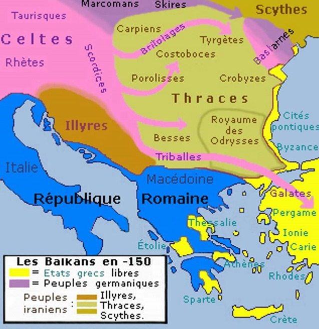 Map-showing-ancient-Thracian-territory