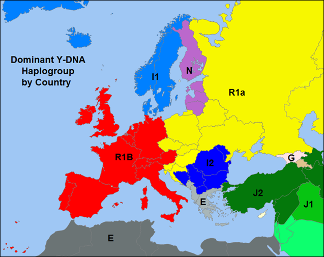 R1a haplogroup [Archive] - The Apricity Forum: A European Cultural
